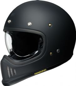 Shoei Ex-Zero Matt Black Helmet